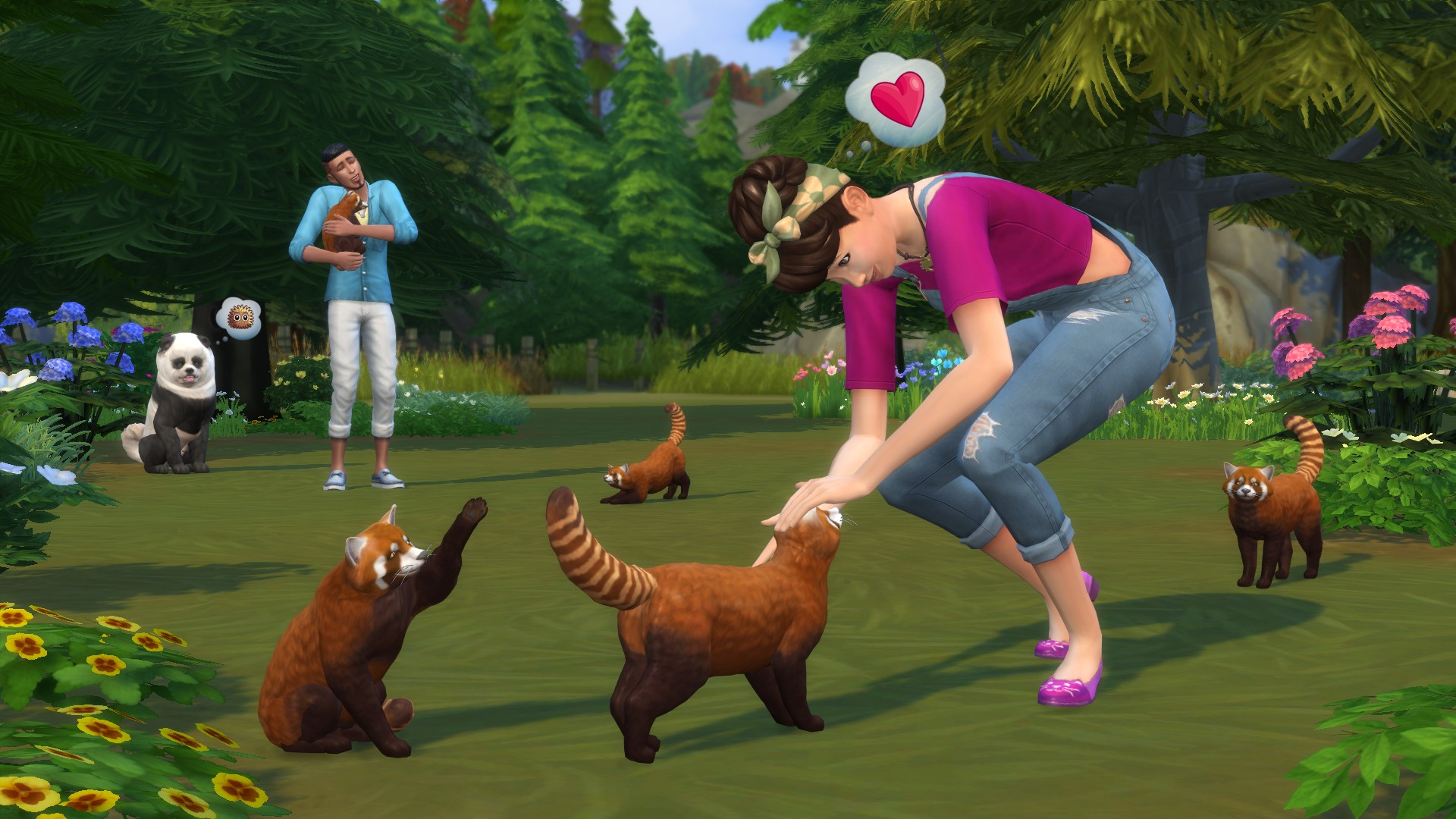The Sims 4 Cats Dogs Arriving On Xbox One July 31 Evil Bunny 3k