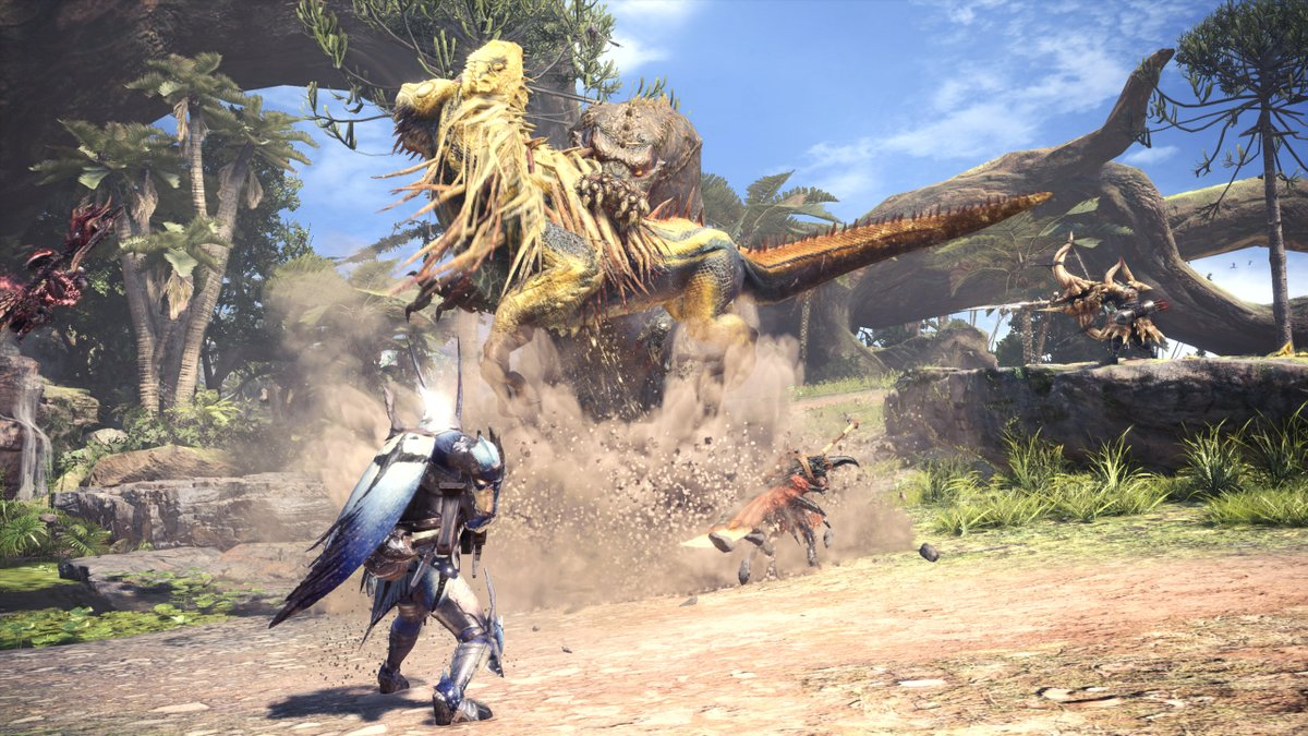 Monster Hunter: World PC will look about as good as it does on PS4