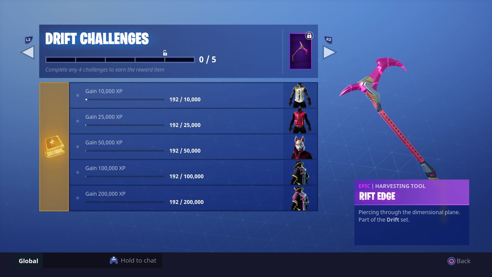 with the start of season 5 another set of progressive skin challenges have dropped here s how to unlock all the pieces of the drift and ragnarok skins and - what is the road trip skin in fortnite